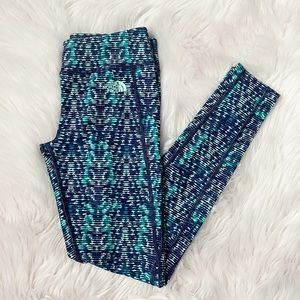 The North Face Small Blue Leggings
